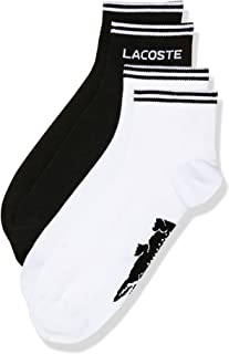 Lacoste Men's TWIN PACK ANKLE SOCKS