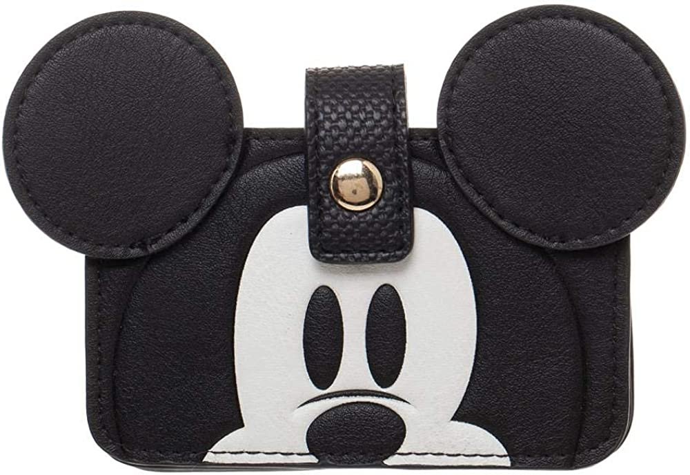 Disney Mickey Mouse Snap Special price for a limited Industry No. 1 time Wallet Leather