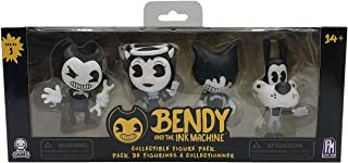 Bendy and The Ink Machine Collectible Figure Pack (4 Figures)