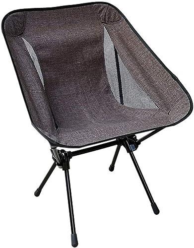 Chaise de pliage extérieure pêche légère pique-nique camping tabouret portable sorcravate siège (Couleur   Marron, Taille   S)