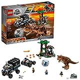 LEGO Jurassic World Huida del Carnotaurus en la girosfera 75929 (577 piezas)