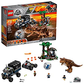 LEGO Jurassic World Carnotaurus Gyrosphere Escape 75929 Building Kit  577 Pieces   Discontinued by Manufacturer