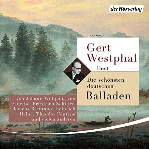 Gert Westphal liest Die schönsten deutschen Balladen Titelbild