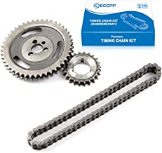 ECCPP Timing Set fits for Chevy 350 400 327 305 283 383 262 265 sbc sb Chain & Gear