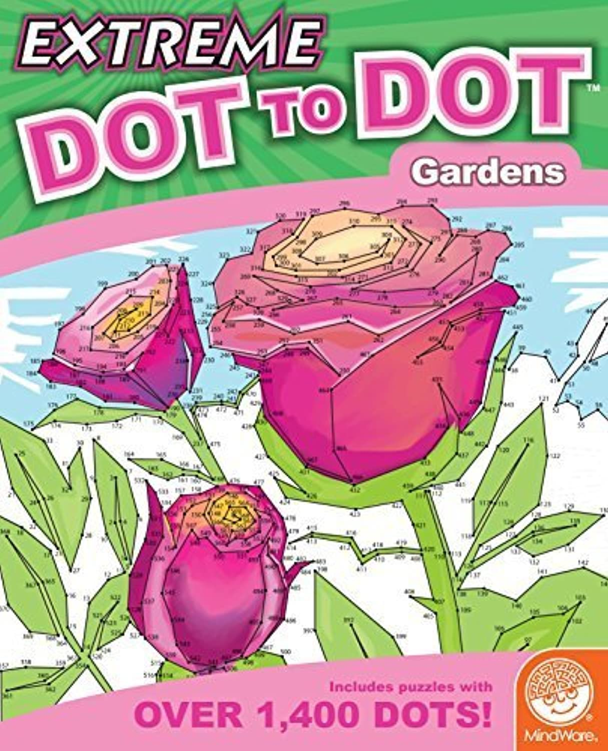 Extreme Dot to Dot  Gardens by MindWare