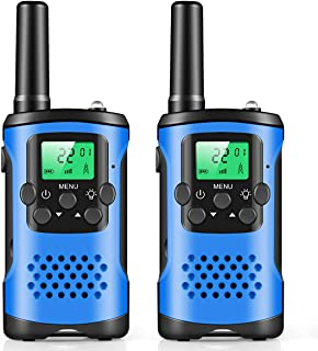 Walkie Talkies for Kids, Mini 22 Channels Radio Toy for 3-12 Year Old Boys Girls Gift, 3 Mile Range Kids Walkie Talkies for Outdoor Camping Game