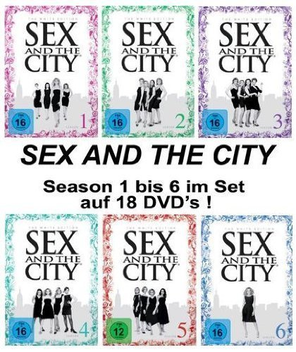 Staffeln 1-6 (White Edition) (18 DVDs)