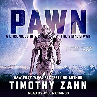 Pawn     Chronicle of the Sibyl's War, Book 1              By:                                                                                                                                 Timothy Zahn                               Narrated by:                                                                                                                                 Joel Richards                      Length: 11 hrs and 35 mins     36 ratings     Overall 4.2