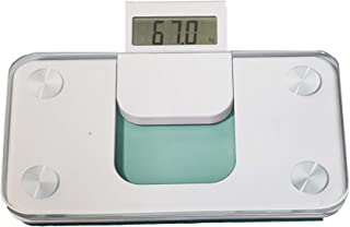 TCM Tchibo - Báscula de baño compacta, color blanco