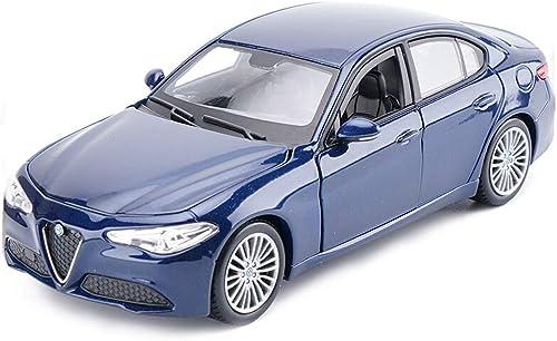 GXL- Interessante Legierung Spielzeugauto niedlich Legierung Druckguss Simulation Auto Spielzeug ziehen Auto Modell Kinder Geschenk Spielzeug geeignet für alle Altersgruppen (Farbe   Blau)