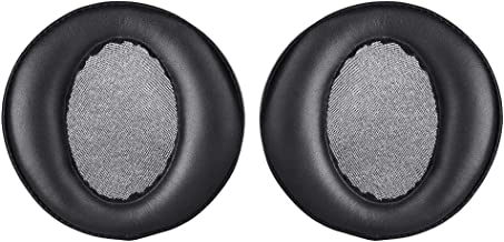 MDR-XB950BT Earpads Replacement Ear Pads Cushions Muffs Repair Parts Compatible with Sony MDR-XB950N1 MDR-XB950B1 MDR-XB950AP MDR-XB950/H Wireless Bluetooth Headphones. (Black)