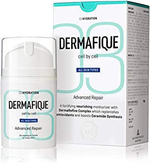 Dermafique Advanced Repair Night Cream with Niacinamide and Pro-Vitamin E, Face Moisturizer for All Skin Types, boosts Cer...