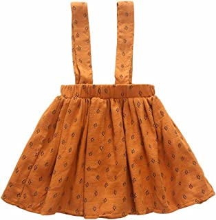 Baby Girls Suspender Skirt Toddler Summer Dress Kids Clothes