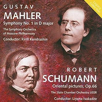 Mahler: Symphony No. 1 - Schumann: Oriental Pictures