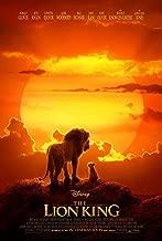 THE LION KING MOVIE POSTER 2 Sided ORIGINAL INTL FINAL 27x40 JON FAVREAU DISNEY