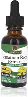 Nature's Answer Lomatium Root Extract Lomatium Dissectum - Natural Herbal Supplement - Gluten Alcohol-Free - Ideal for Imm...