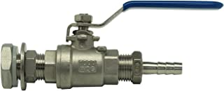 ball lock disconnect with check valve