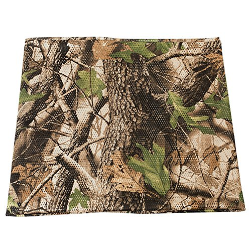 LOOGU Camo Burlap, Camouflage Netting Cover Army Military 59' W Mesh Fabric Cloth Material for Hunting Blind
