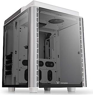 شارژ کامپیوتر Thermaltake Level 20 HT Snow Edition 4 Tempered Glass Type-C کاملاً مدولار E-ATX Full Tower با 2 فن بالای 140 میلی متر از پیش نصب شده CA-1P6-00F6WN-00