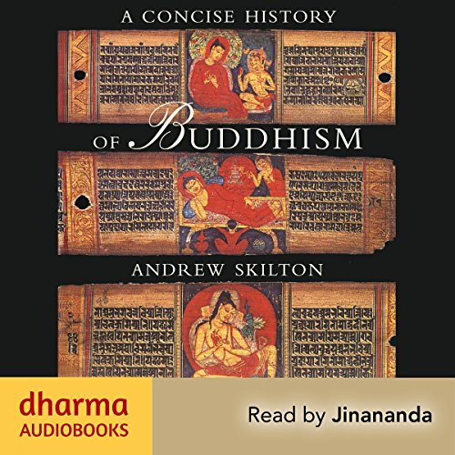 A Concise History of Buddhism audiobook cover art