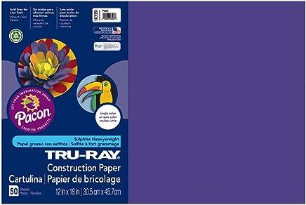 TRU RAY 12 X 18 PURPLE 50 SHT