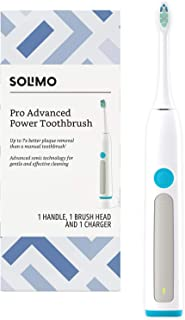 Amazon Brand - Solimo Pro Advanced Rechargeable Power Toothbrush with Charger