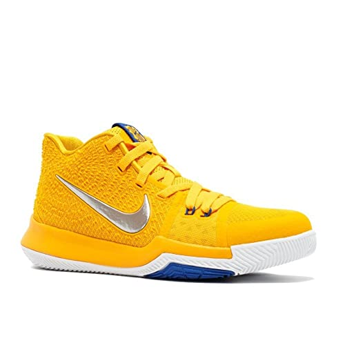 low priced 1686d e713e Nike Kid s Kyrie 3 GS (5.5 Y, University Gold Chrome White