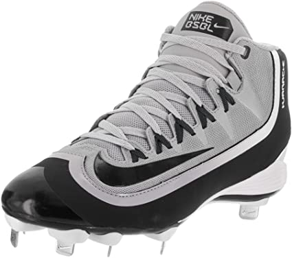 Nike Huarache 2KFilth Pro Low, Black/Grey/White, 8 M US