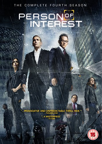 Person Of Interest: The Complete Fourth Season (6 Dvd) [Edizione: Regno Unito] [Edizione: Regno Unito]