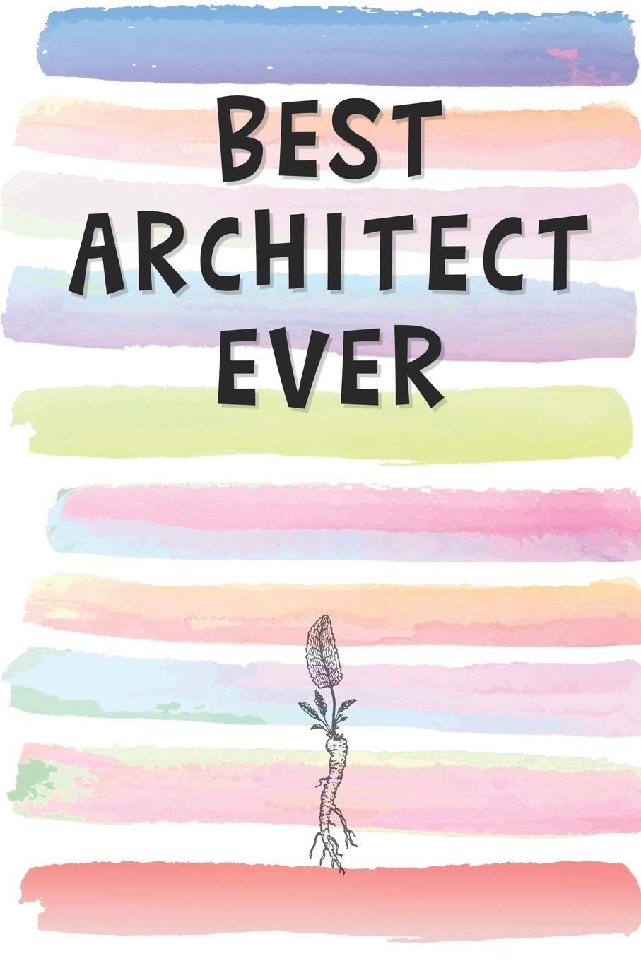 Pink Architecture Lined Notebook