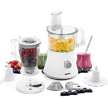 Nutri Q 34780 Food Processor Coffee Grinder Blender, Slices