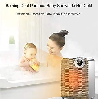 Calefactor Bajo Consumo Silencioso,Calefactor Ceramico Bajo Consumo,Temperatura Constante Inteligente,Calentamiento RáPido,AlimentacióN de Gran áNgulo, Rendimiento De Tiempo Fijo,BañO