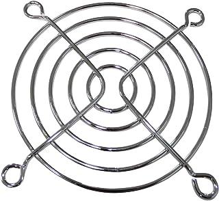 AERZETIX: Juego de 4 Rejillas de protección Cromo 70x70mm ventilación para Ventilador de Caja de Ordenador PC C43423