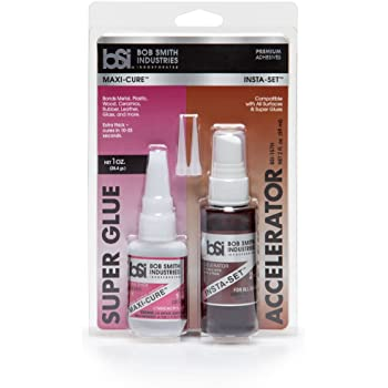 Bob Smith Industries BSI-157H Maxi Cure/Insta-Set Combo Pack (3 oz. Combined),Clear