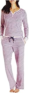 Women's 2 Piece Fleece Pajama Sleepwear Set