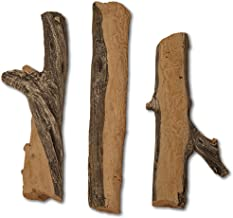 Midwest Hearth Gas Logs Deluxe Decorative Branch and Twig Set | Cast from Real Logs and Hand Painted in USA (Juniper 3-Piece)