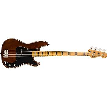 Fender Classic Vibe 4 String Bass Guitar, Right, Walnut, Full (0374520592)