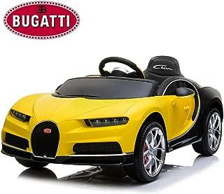 bugatti 12v ride on car