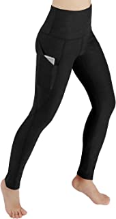 ODODOS High Waist Out Pocket Yoga Pants Tummy Control...