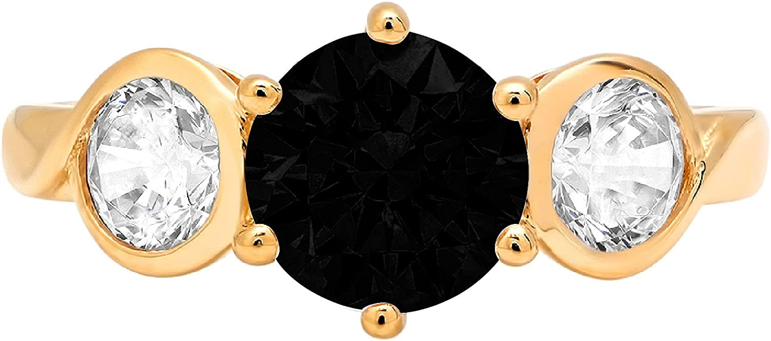 1.79ct Award-winning store Brilliant Round Cut 3 Flawless At the price of surprise Bl Solitaire stone Natural