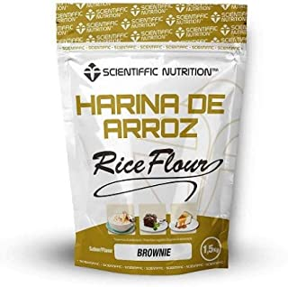 Harina De Arroz Gourmet 1.5 Kgs - Scientiffic Nutrition, TARTA DE QUESO CON CARAMELO