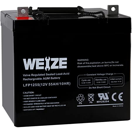 AGM//GEL Leisure /& Mobility Application Battery 38AH 42AH 44AH ULTRAMAX 12V 40A