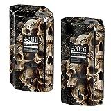 Skin Decal Vinyl Wrap for Smok GX2/4 350W TC Vape Skins Stickers Cover / Wicked Skulls Tattooed