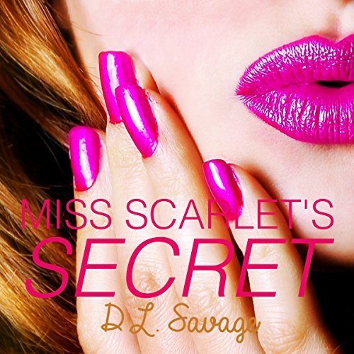 Miss Scarlet's Secret audiobook cover art