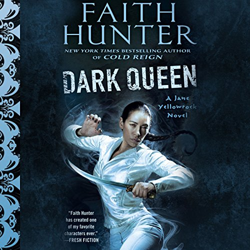 Dark Queen audiobook cover art