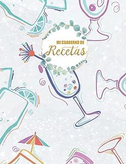 Mi cuaderno de recetas: Recetario de cocina para escribir (Spanish Edition)