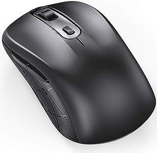 فأرة لاسلكي متوافقة مع بي سي 2.4 جي جيلي كومب للكمبيوتر المحمول مع أجهزة الكمبيوتر المحمولة DPI 1000/1600/2400 قابلة للتعد...