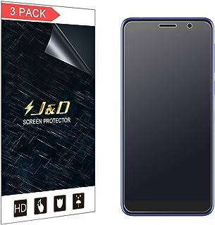 J&D kompatibel med 3-pack Alcatel 1X 2019 skärmskydd, [Inte full täckning] Matt filmskärm skärmskydd för Alcatel 1X 2019 m...