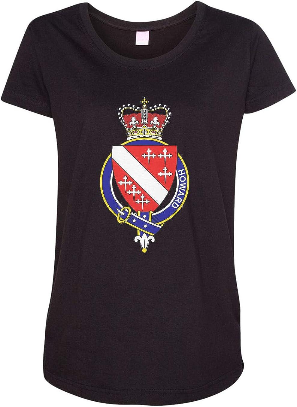 HARD EDGE DESIGN Women's English Garter Family Howard T-Shirt