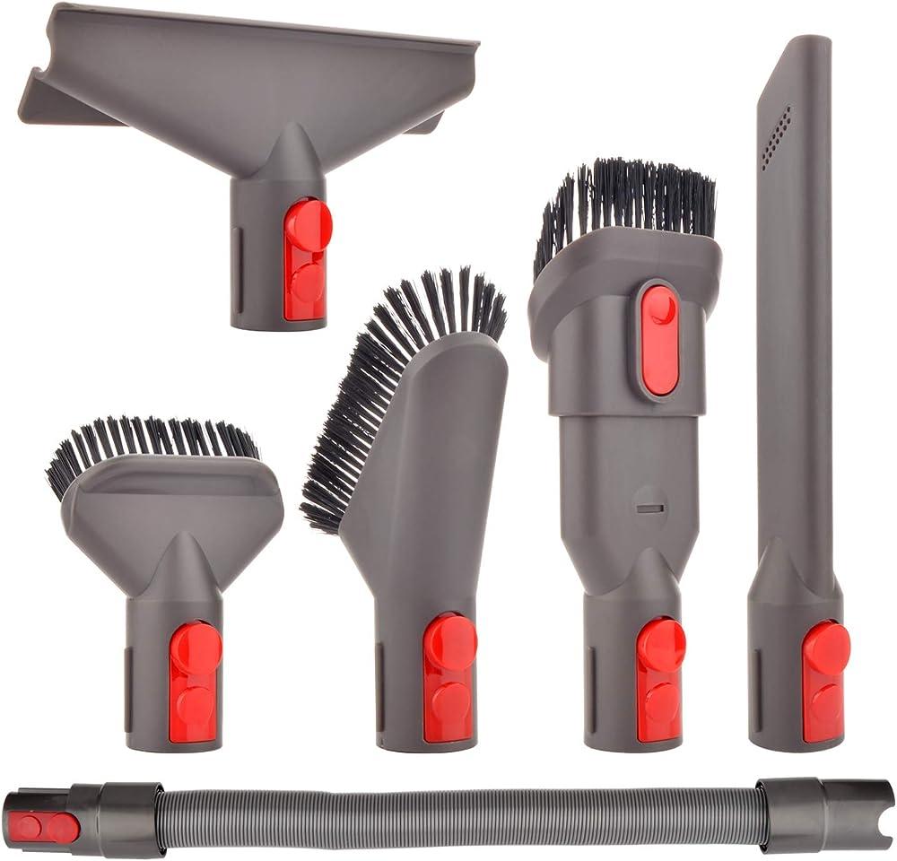 Ricambi e accessori spazzola kit con tubo flessibile per dyson v7 v8 v10 sv10 sv11 aspirapolvere